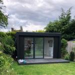 Bespoke Black Cladding for Your Garden Room