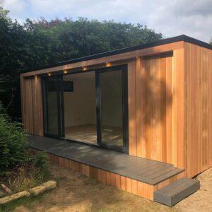 garden-office-with-decking