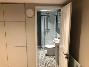 Bathroom from outside