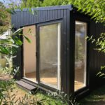 Garden room with black cladding